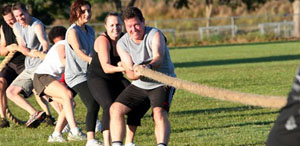 Bootcamp tug of war
